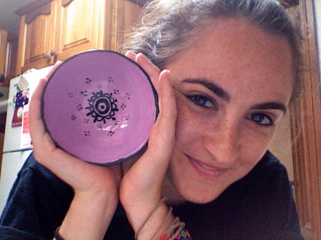 ceramics: henna bowl