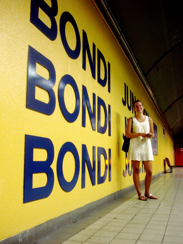 Last days in Sydney: Bondi junction