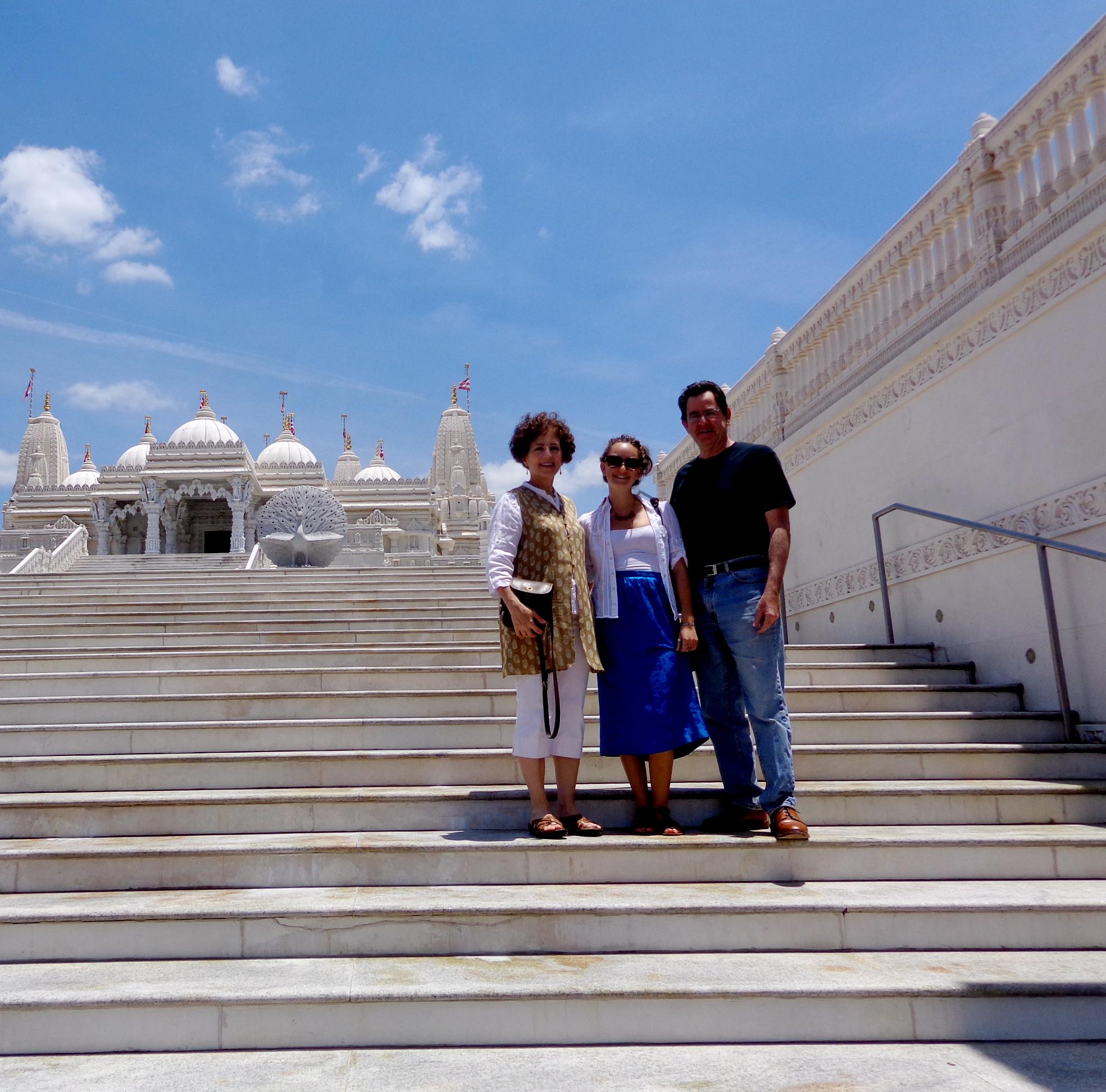 Hindu temple in Atlanta