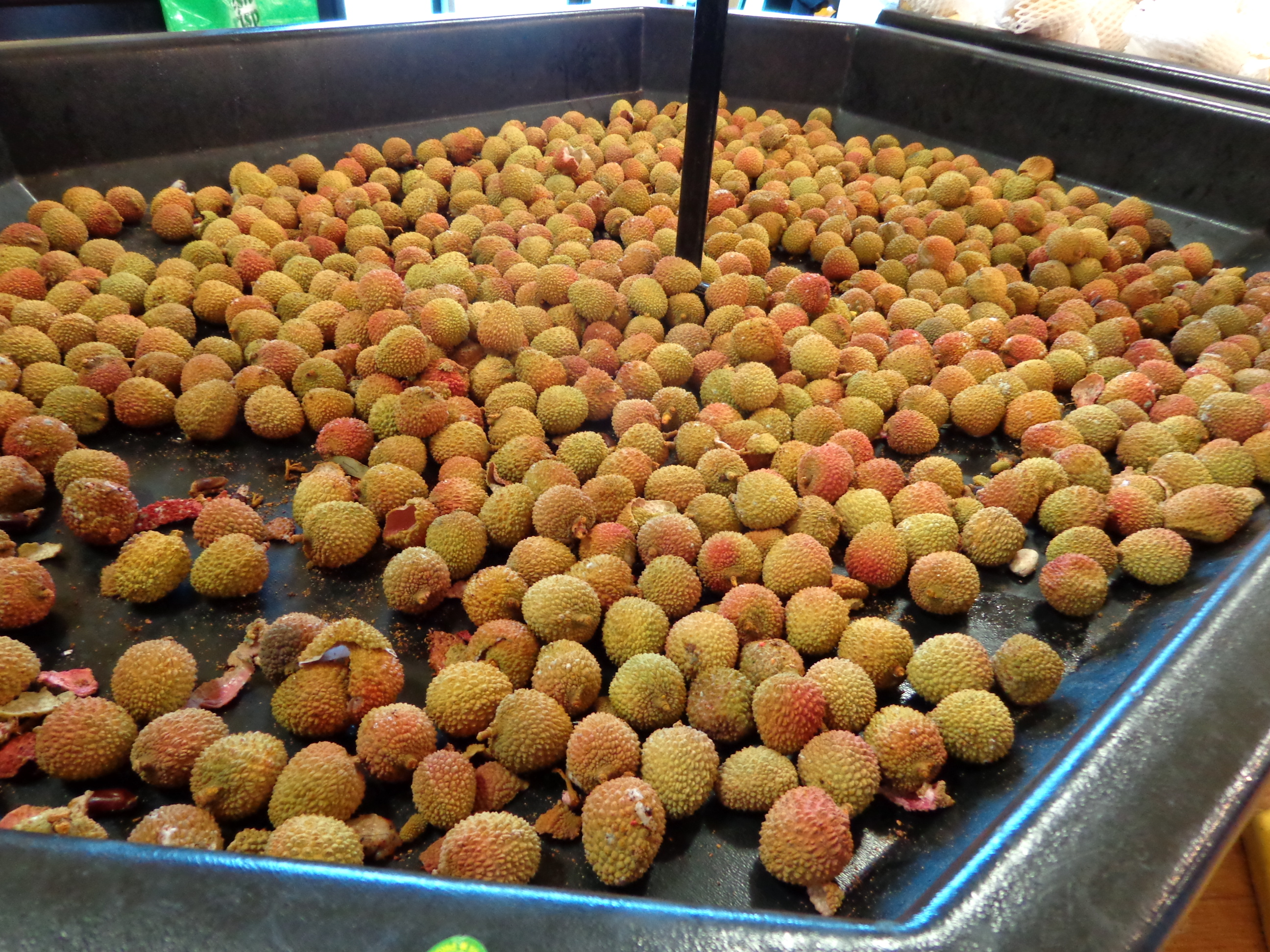 Lychees in the Buford Highway Farmer's Market
