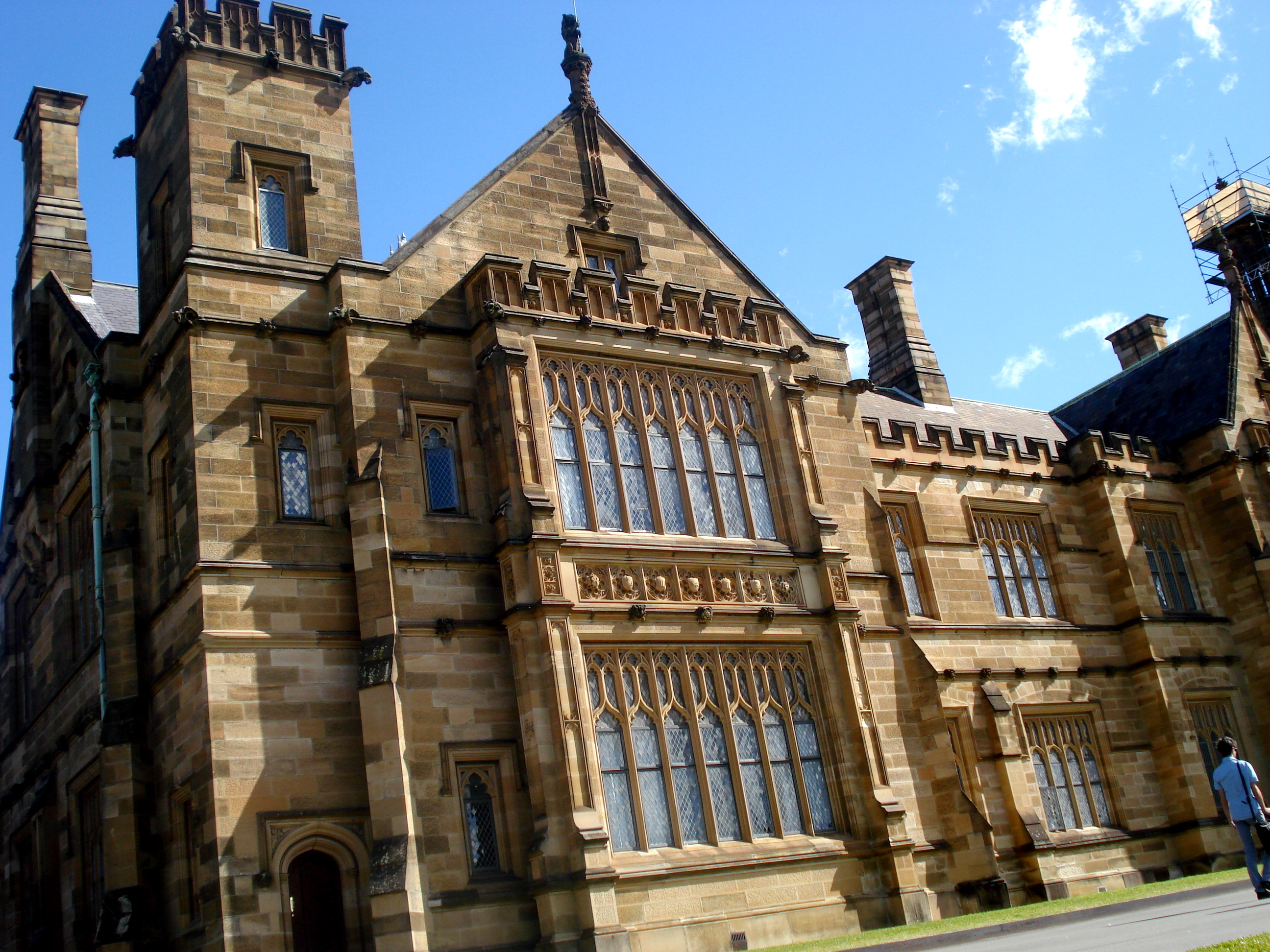 Sydney uni exchange: buildings on campus
