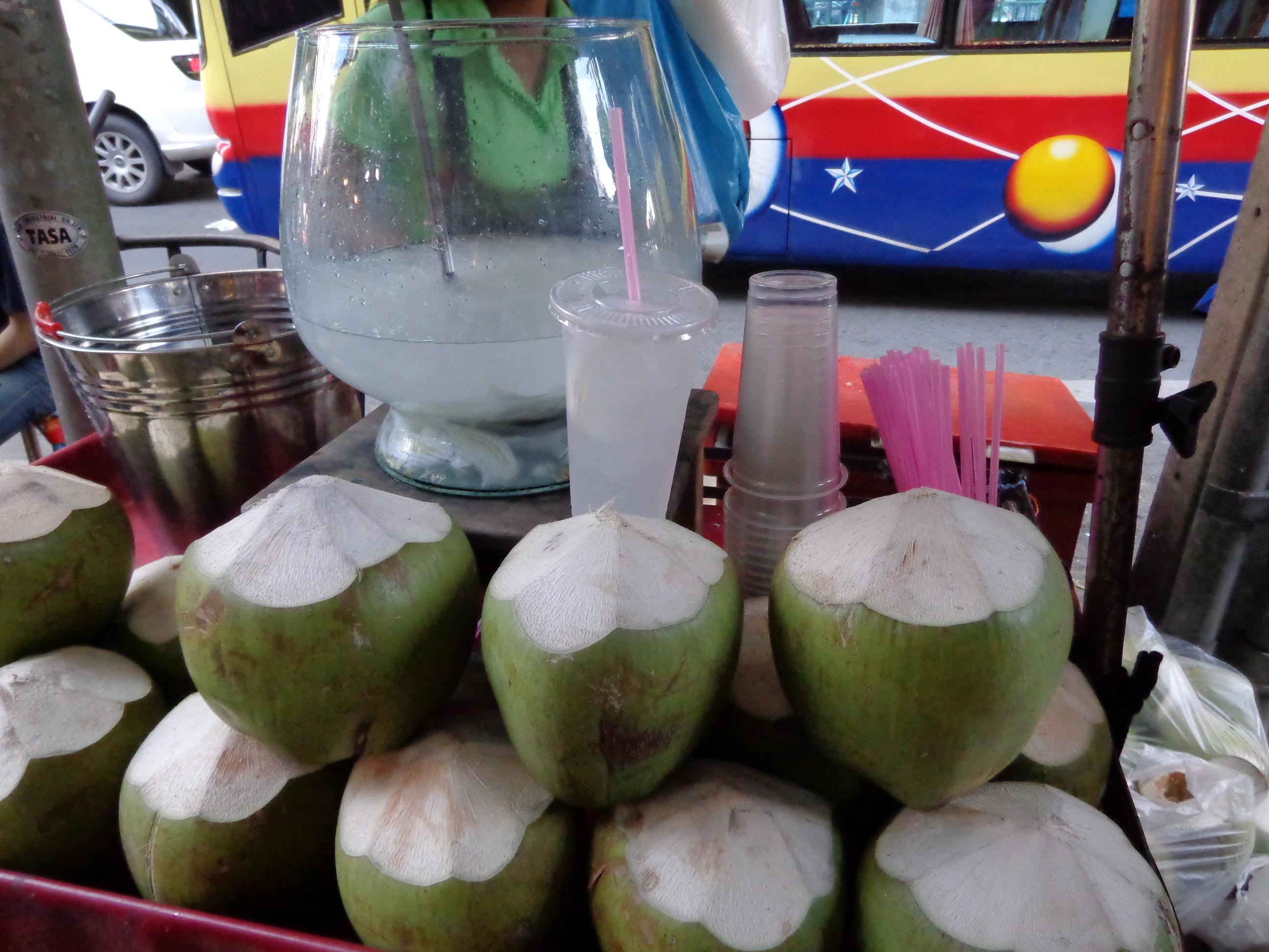 coconut water in Bangkok