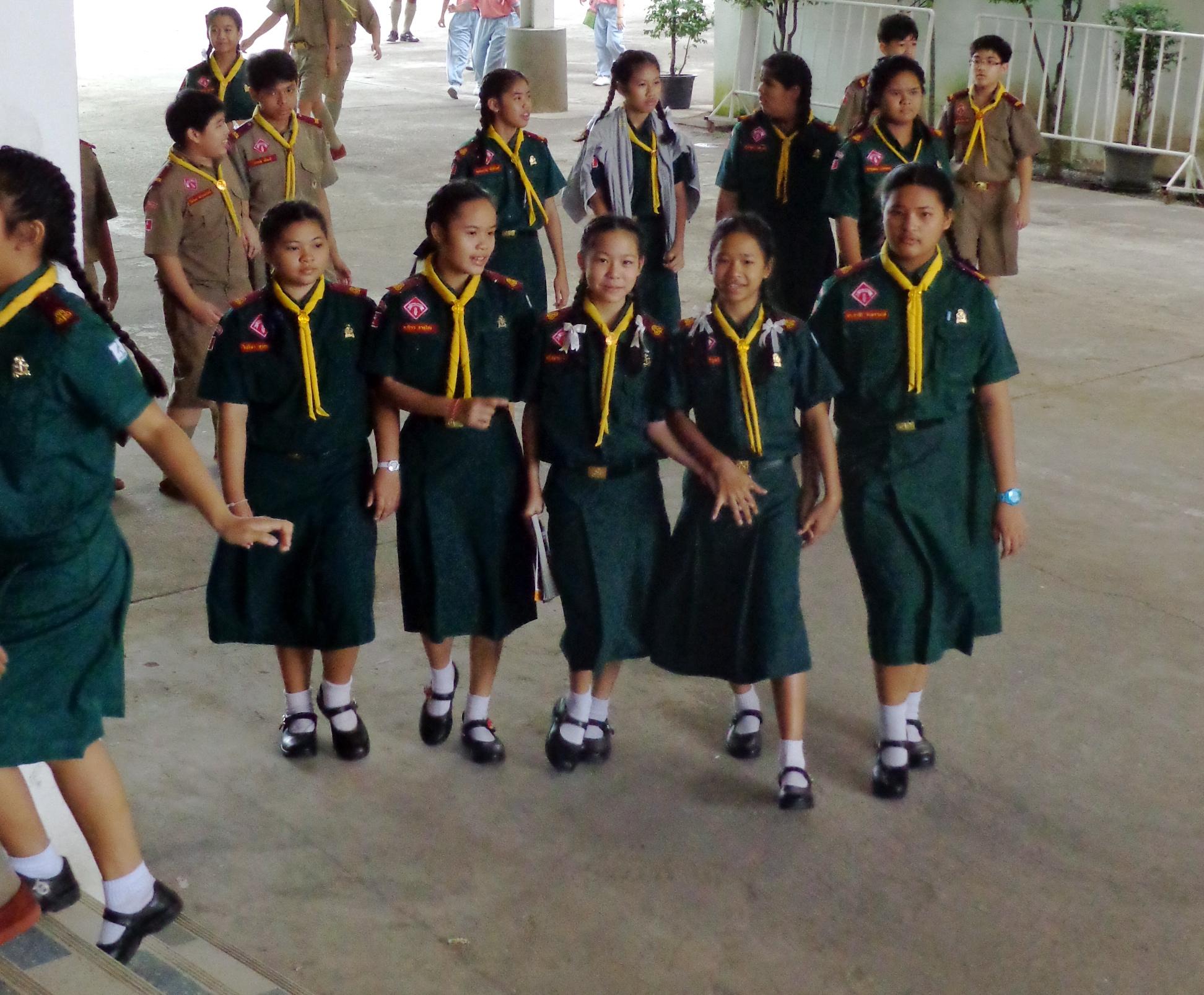 On Fridays We Wear Boy Scout Uniforms | Mishvo in Motion