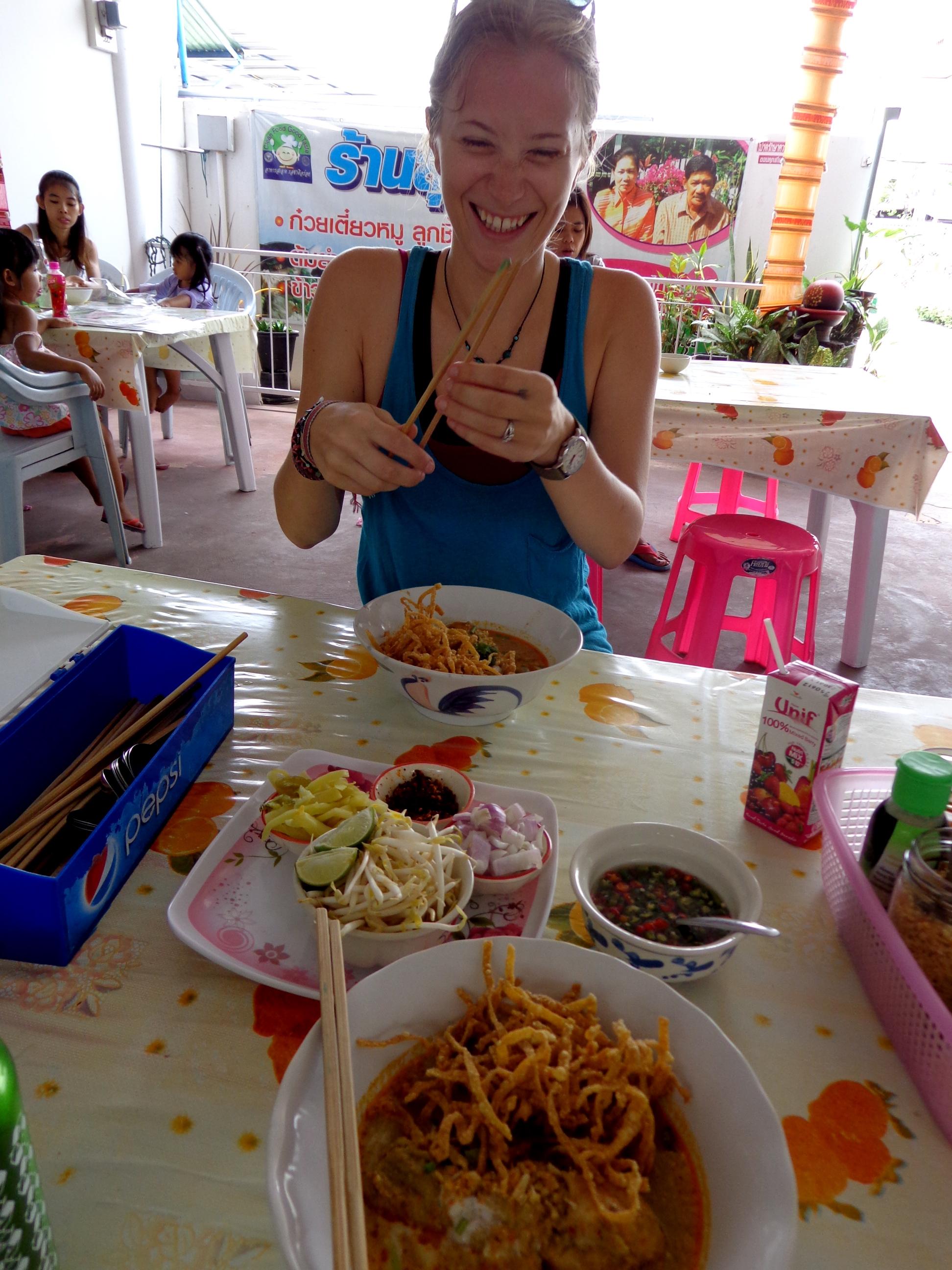Khao soi in Nonthaburi