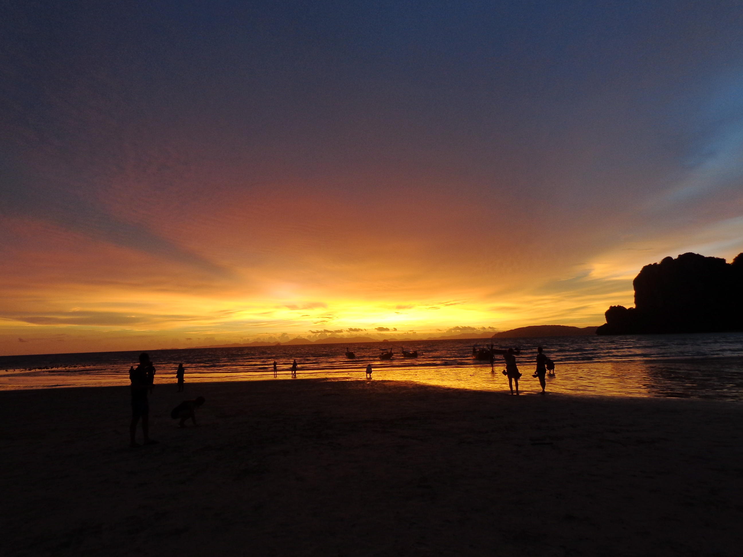 Sunset in Railay, Thailand
