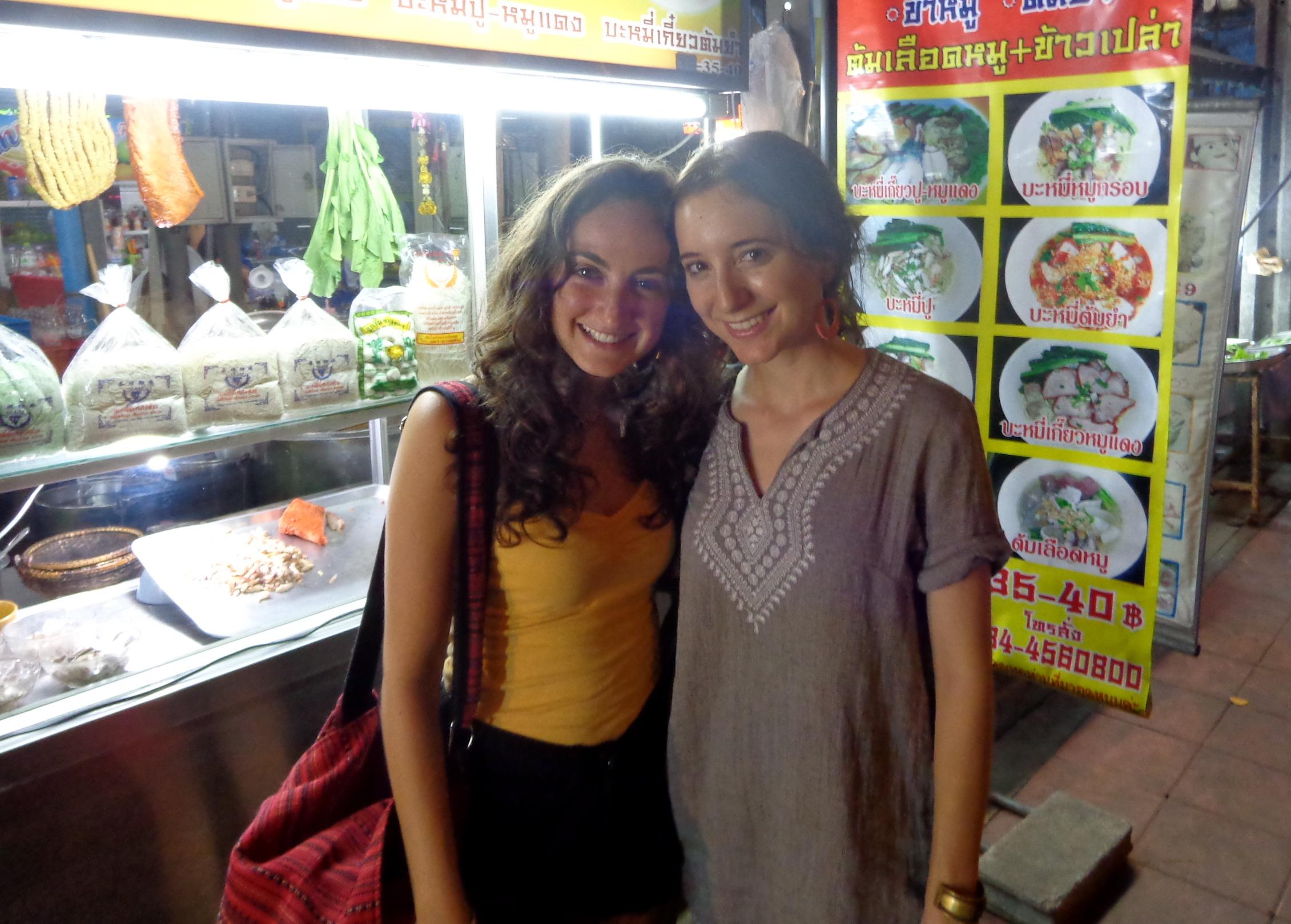 Me and Annie in Bangkok