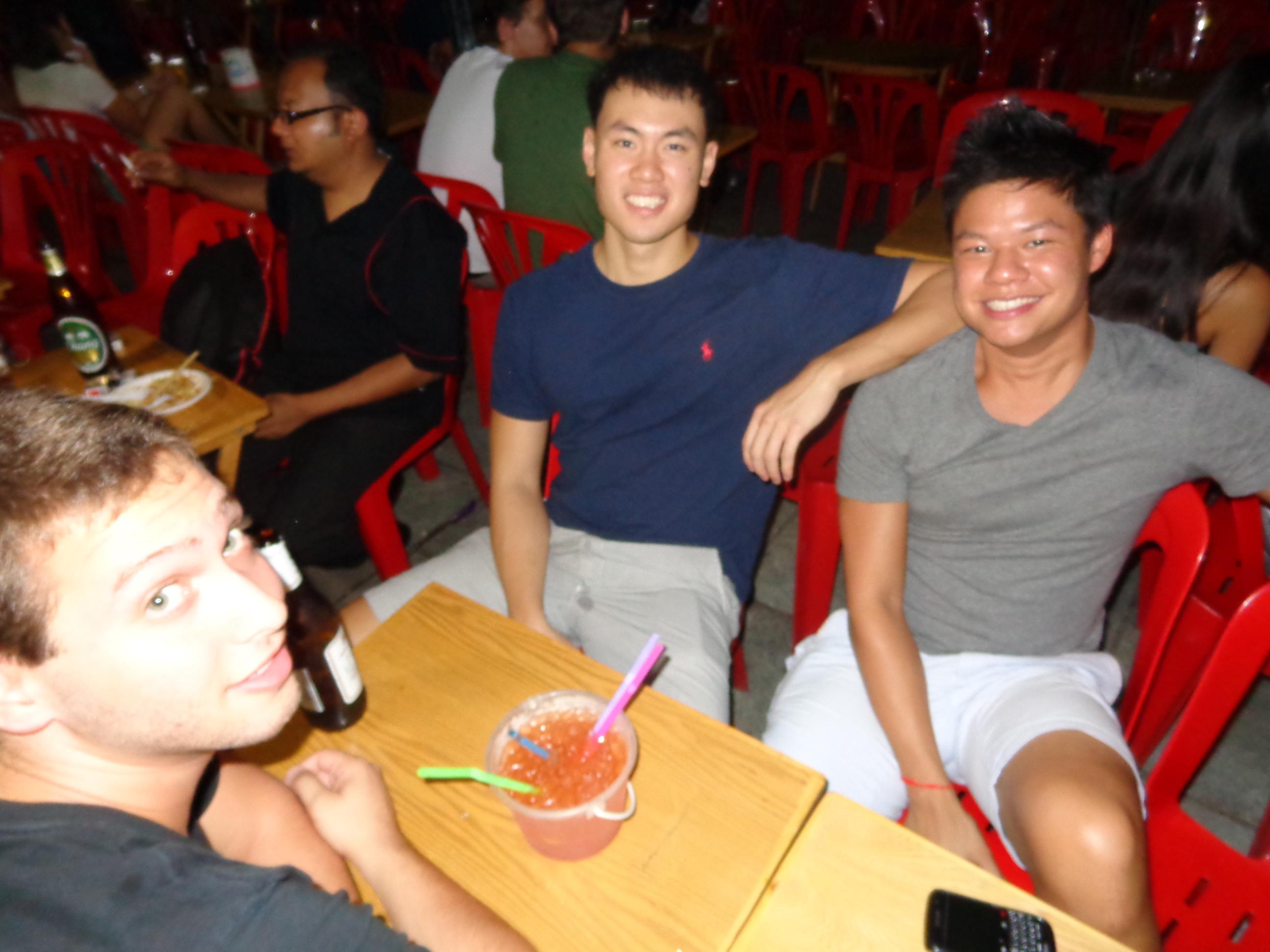 Drinking on Khao San