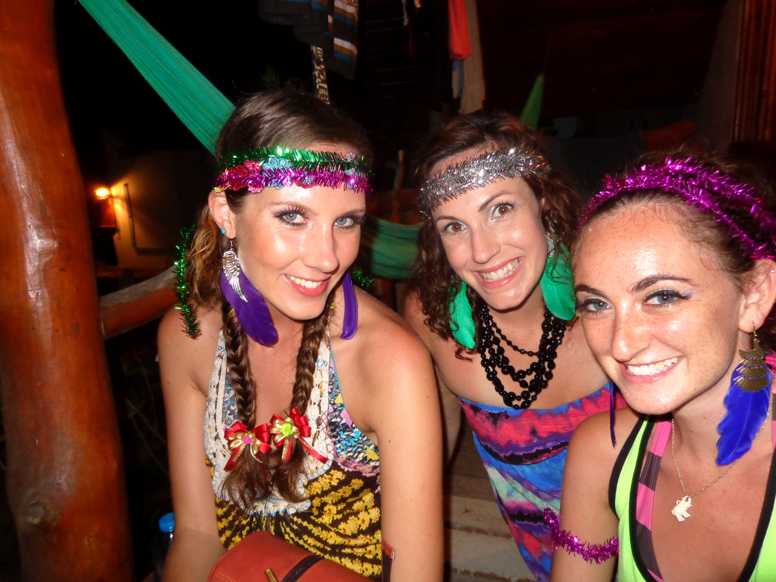 Full moon party garb