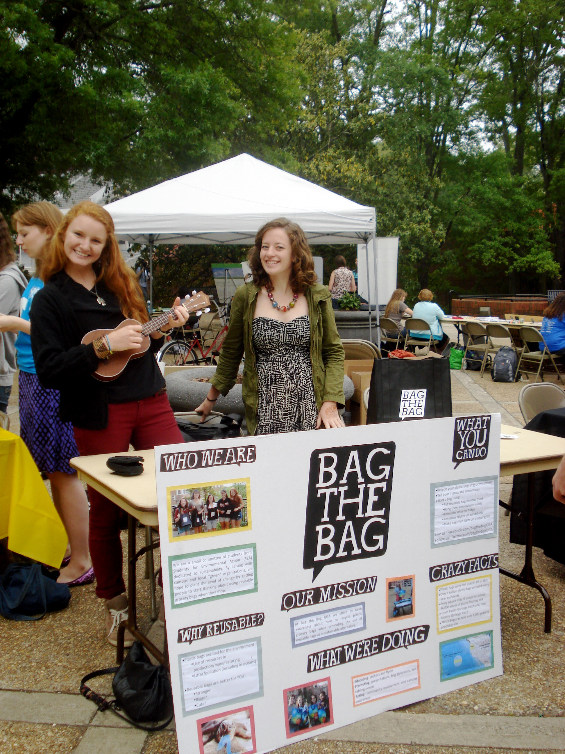 Bag the bag tabling