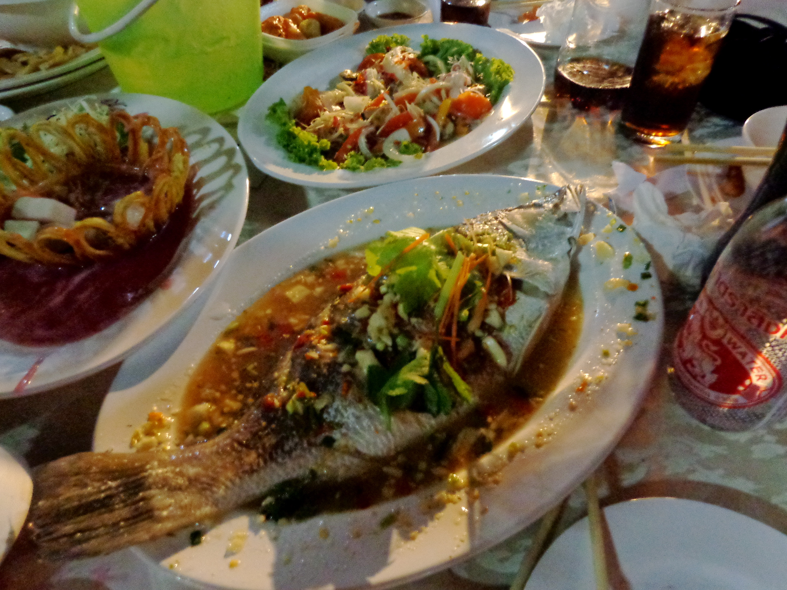 Traditional Thai fish dish