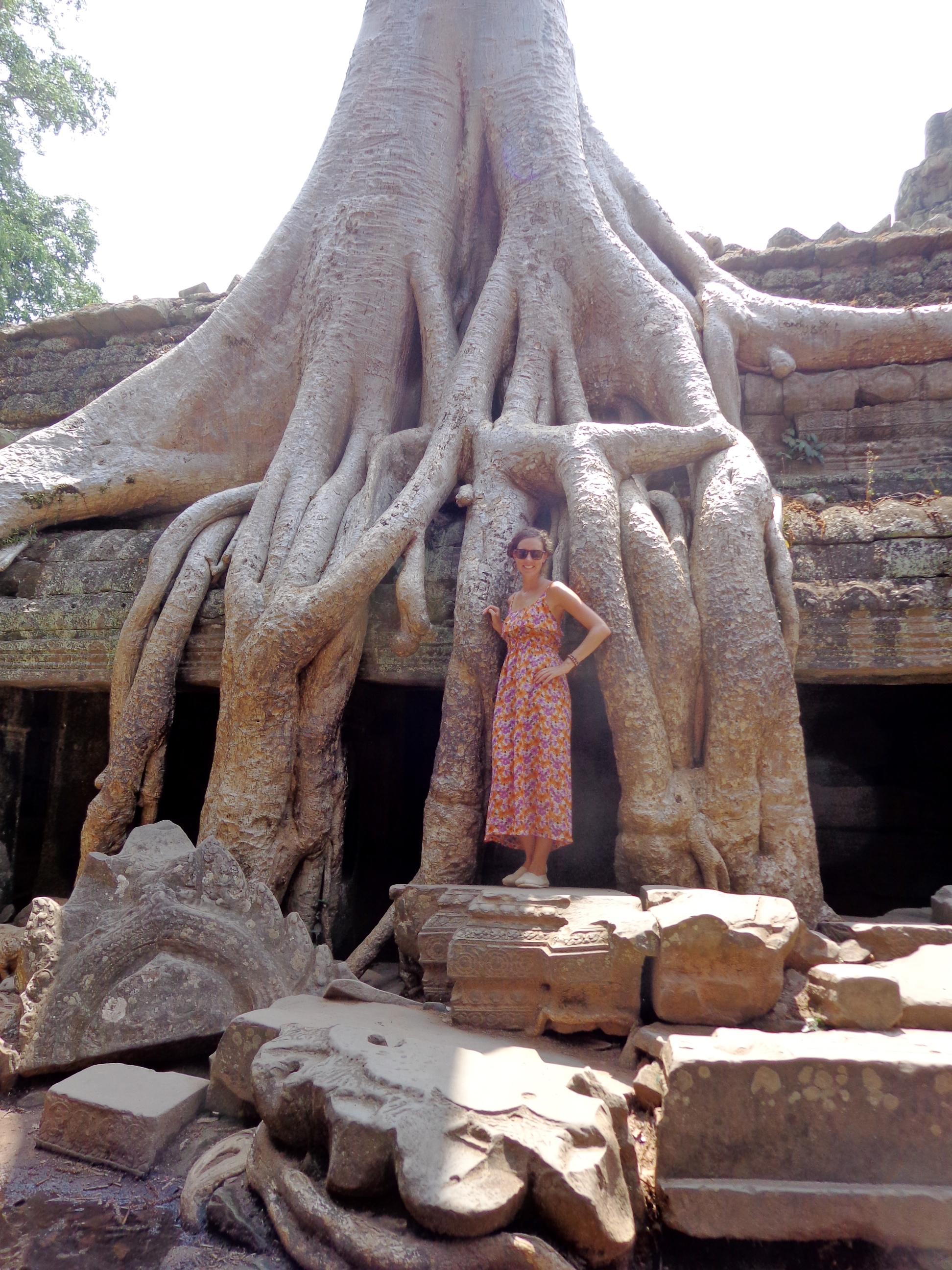Ta Prohm in Cambodia