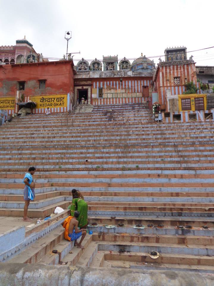 Got some ghat shots on a solo wander through Varanasi, India