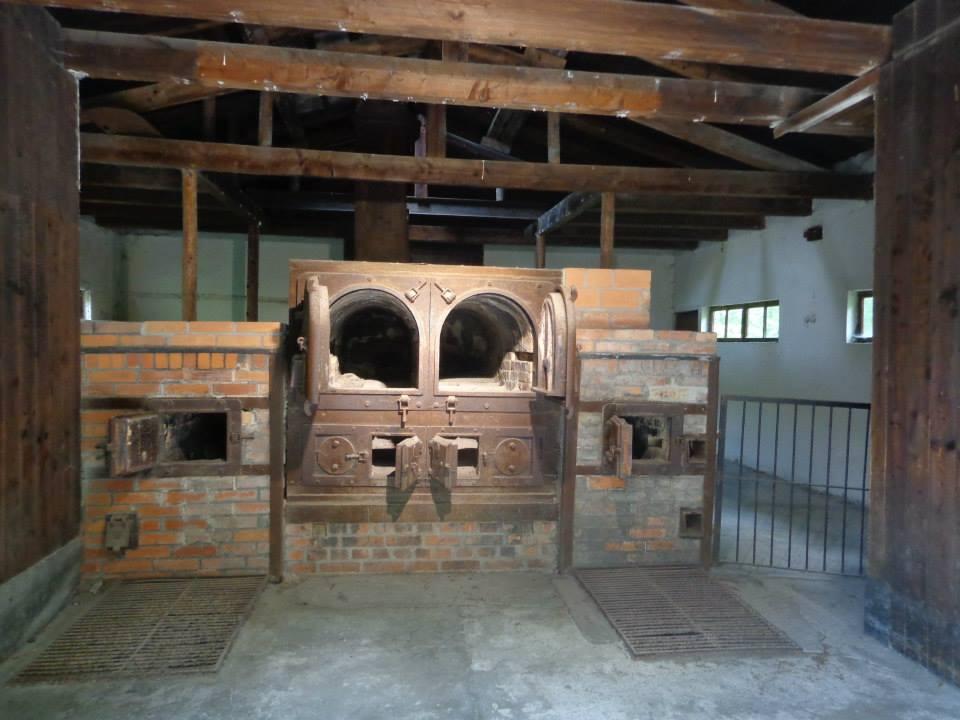 Crematorium in Dachau