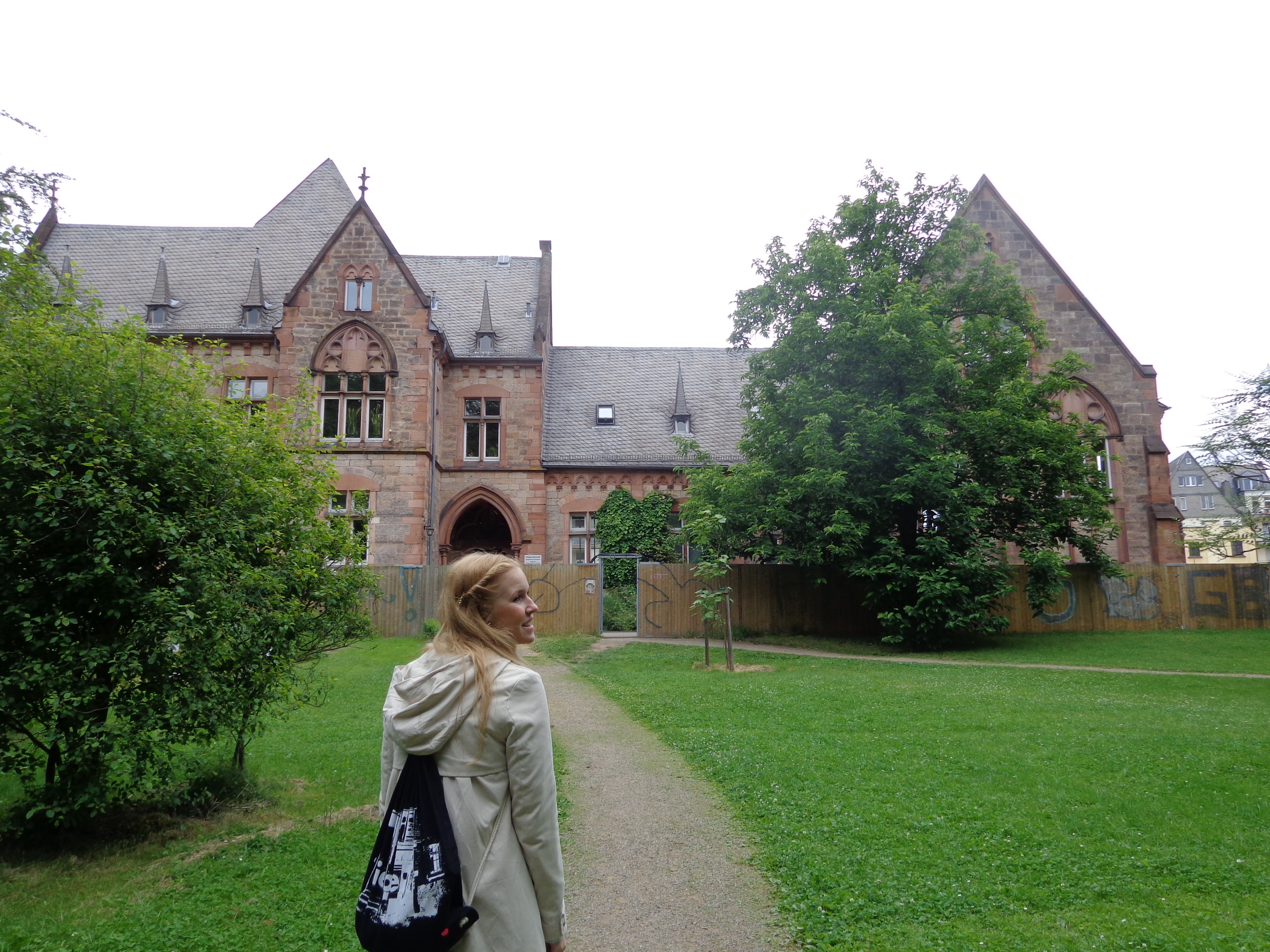 Walking around Marburg