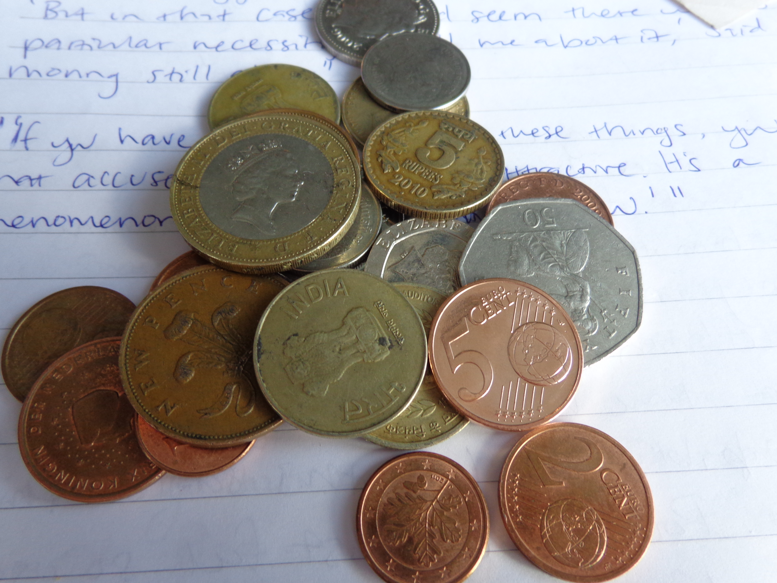 Budgeting with different currencies