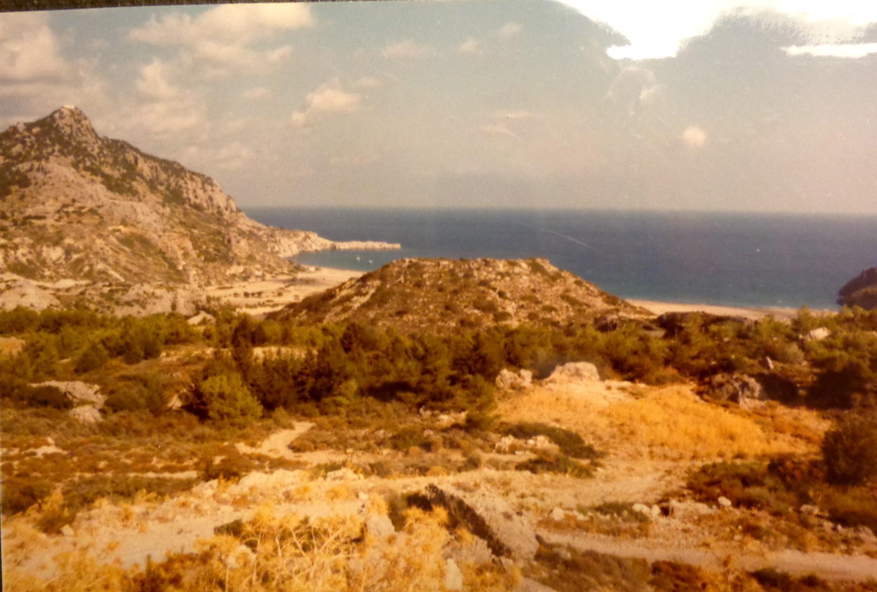 Honeymoon in Greece scenery