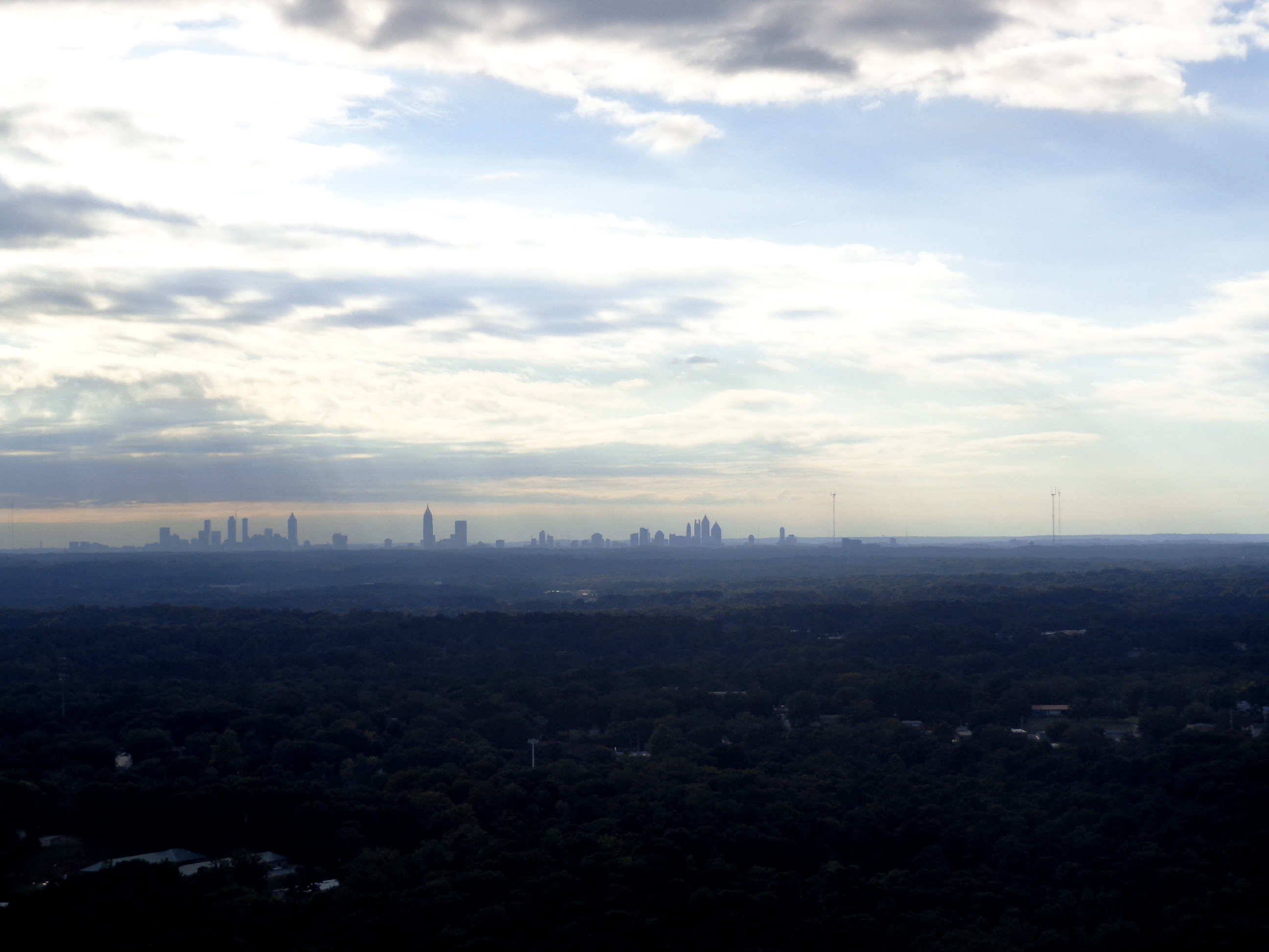 The view from Stone Mountain