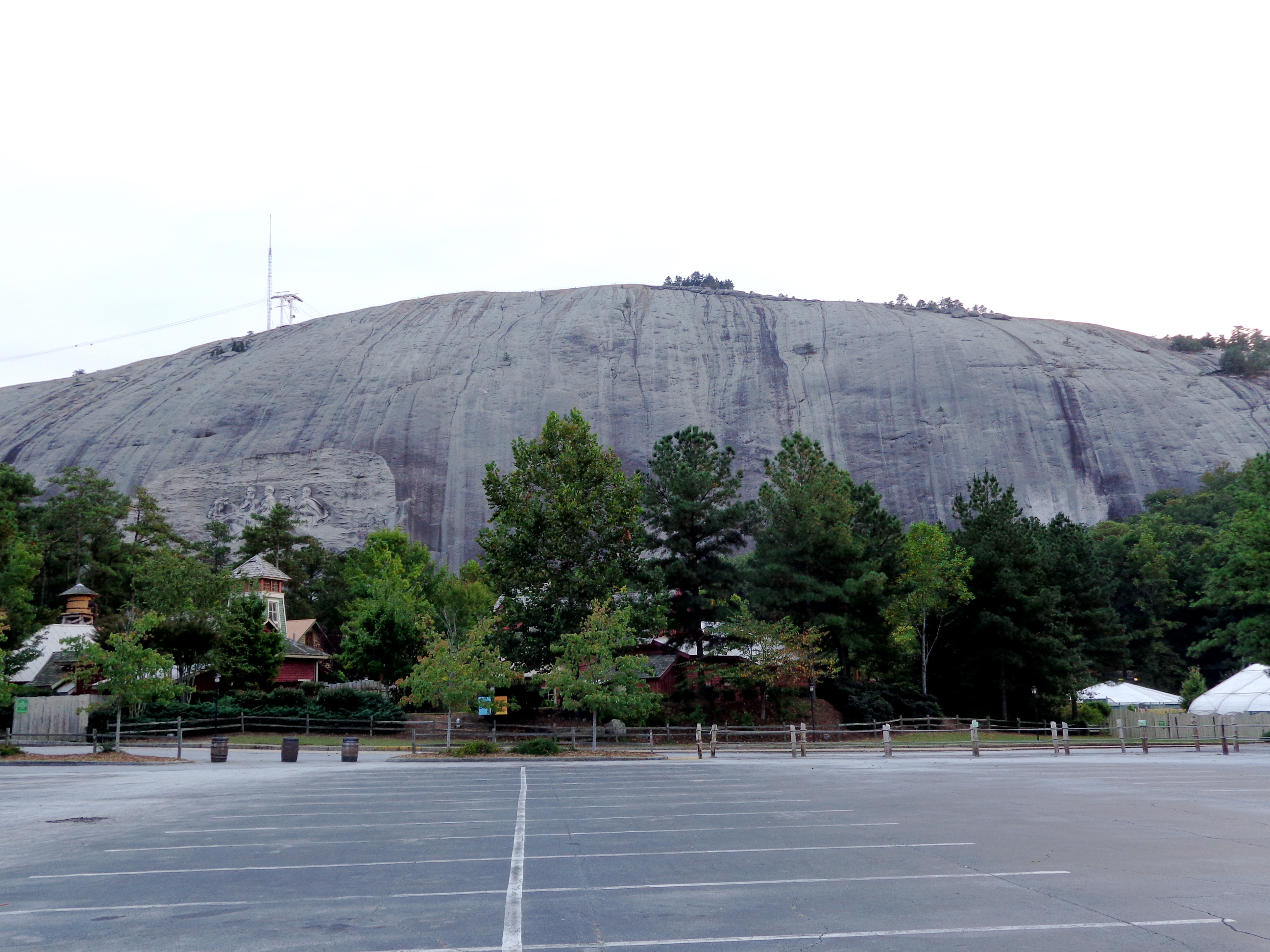 Stone Mountain profile view