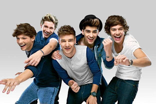 One Direction: Louis, Niall, Liam, Zayn, Harry