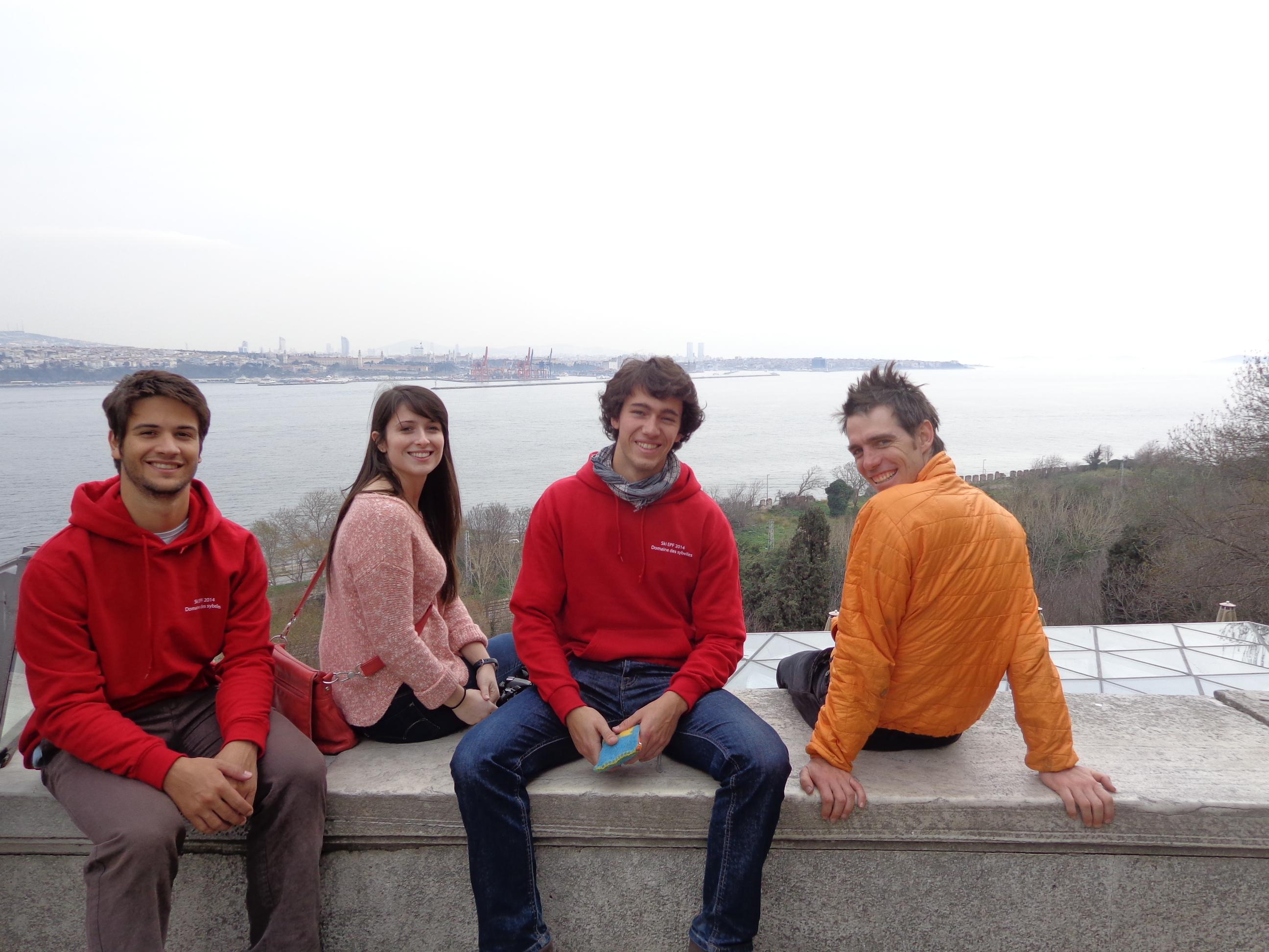 New friends in Turkey