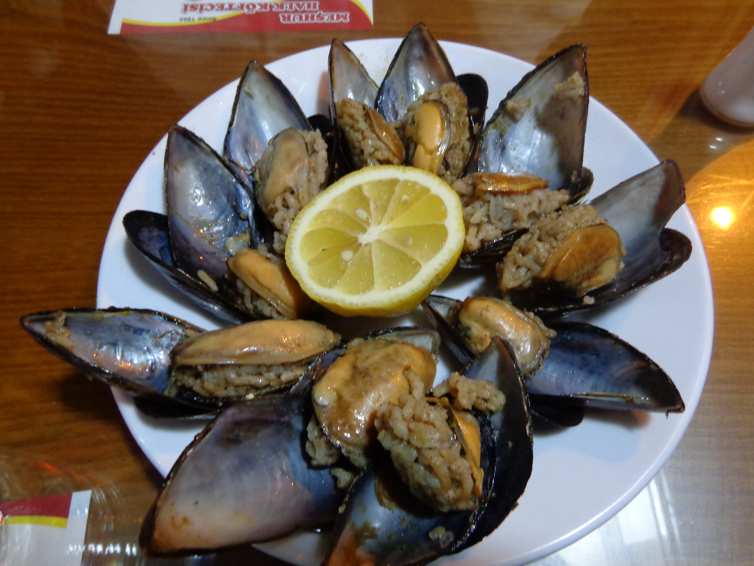 Mussels in Turkey
