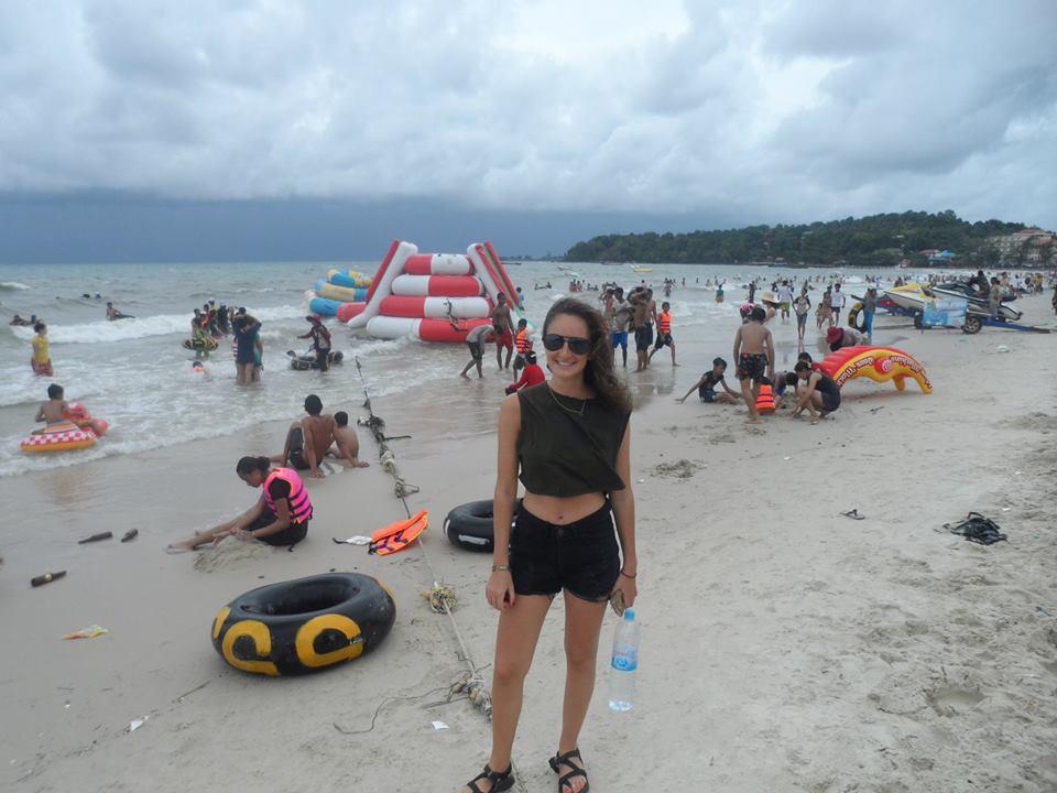 Best advice: Cambodian beach party