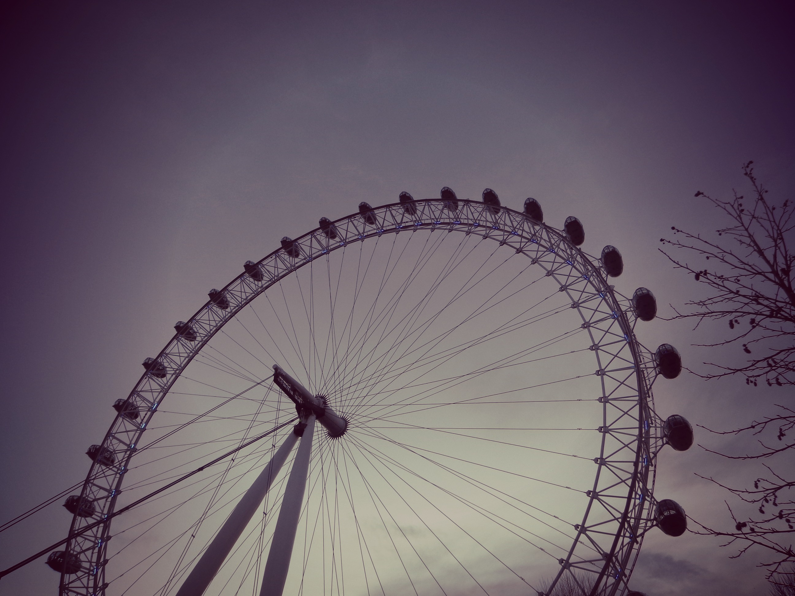 Why travel: ferris wheel