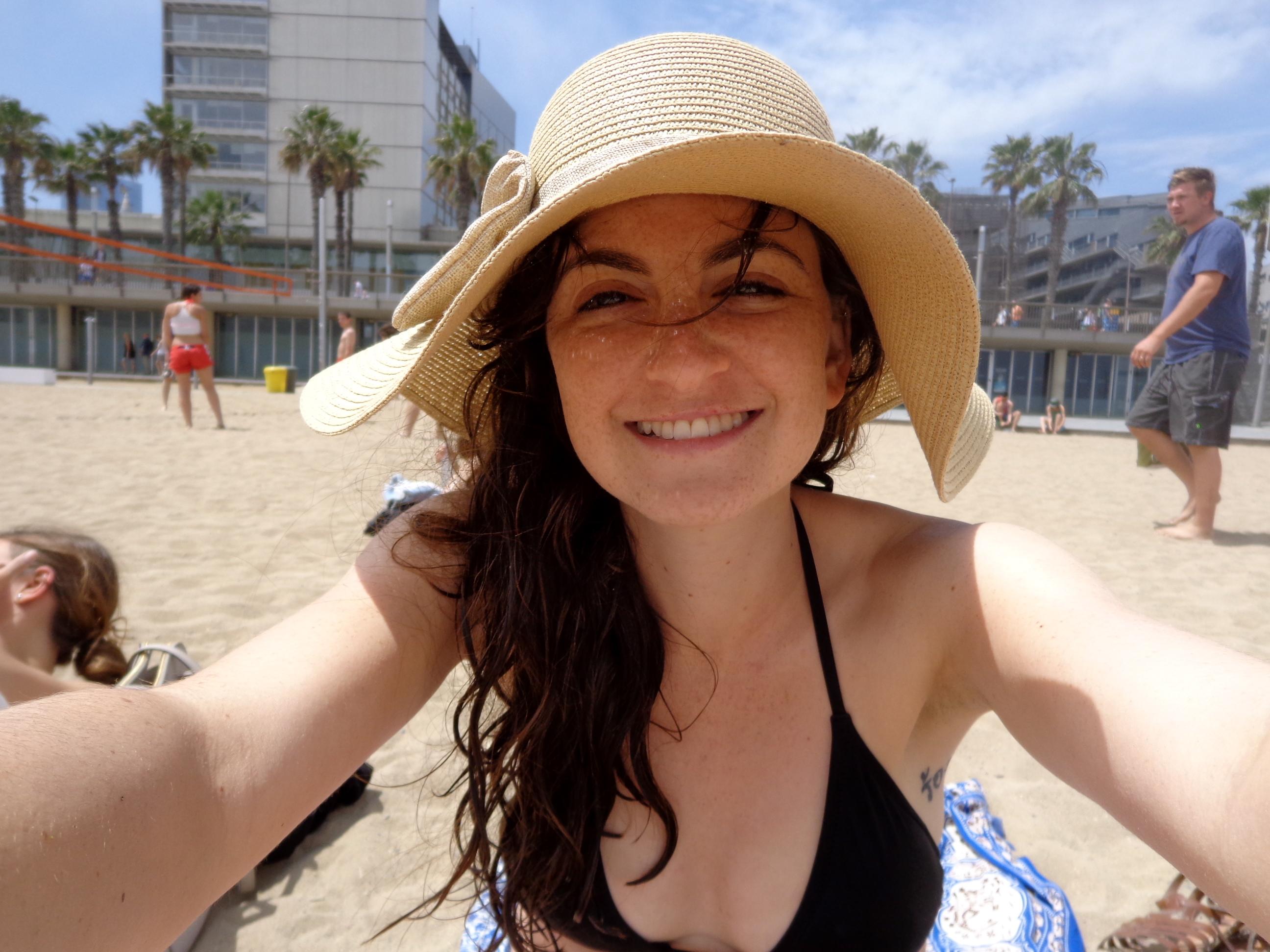 not a gap year: at the beach