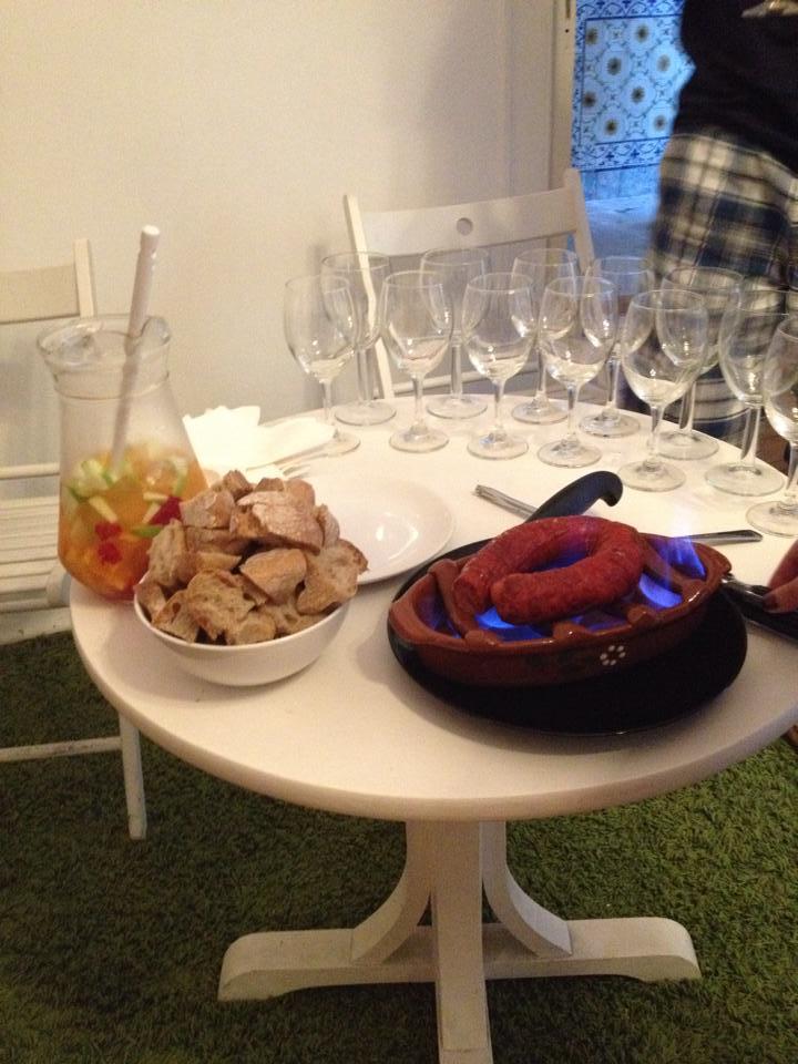 Free chorizo and sangria at Lost Inn Lisbon