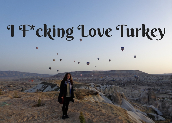 Sunrise and hot air balloons in Turkey