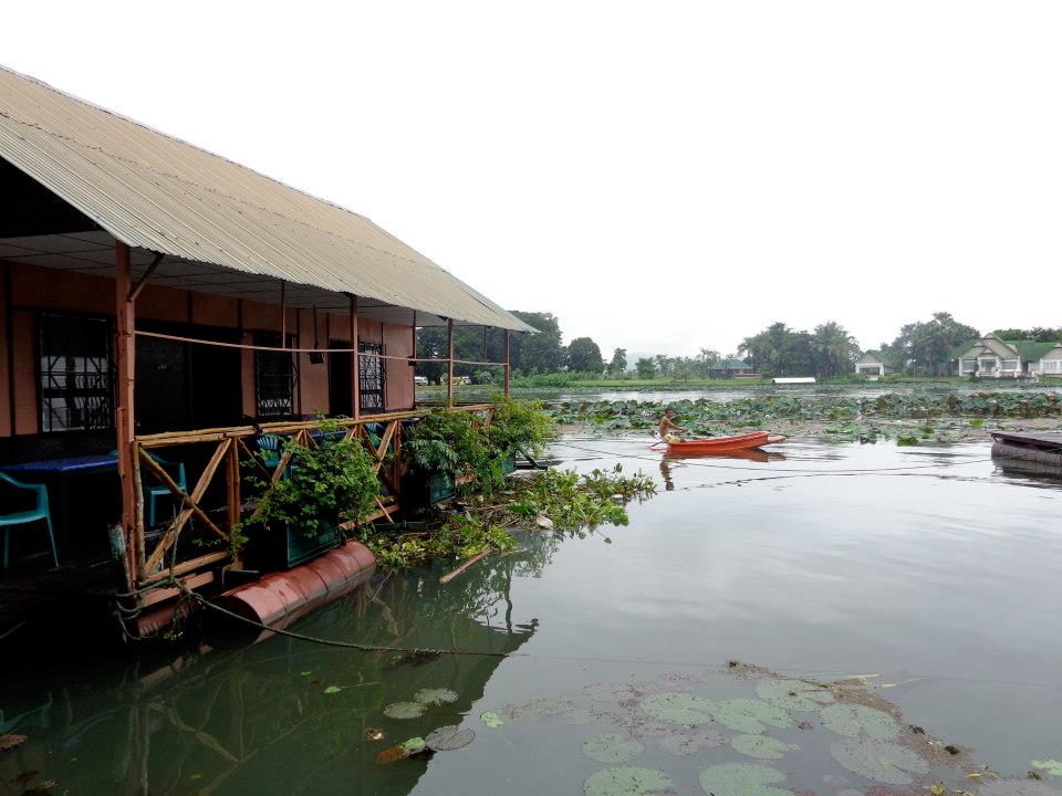 Our floating room on the River Kwai