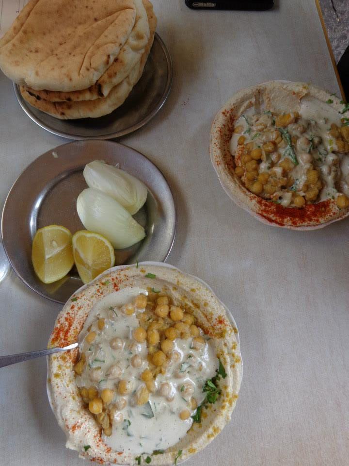 Hummus in Tel Aviv