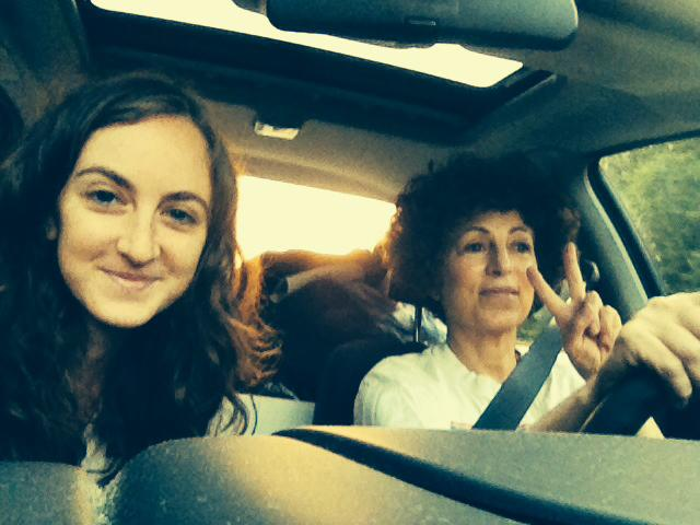 Driving to Baltimore with mom