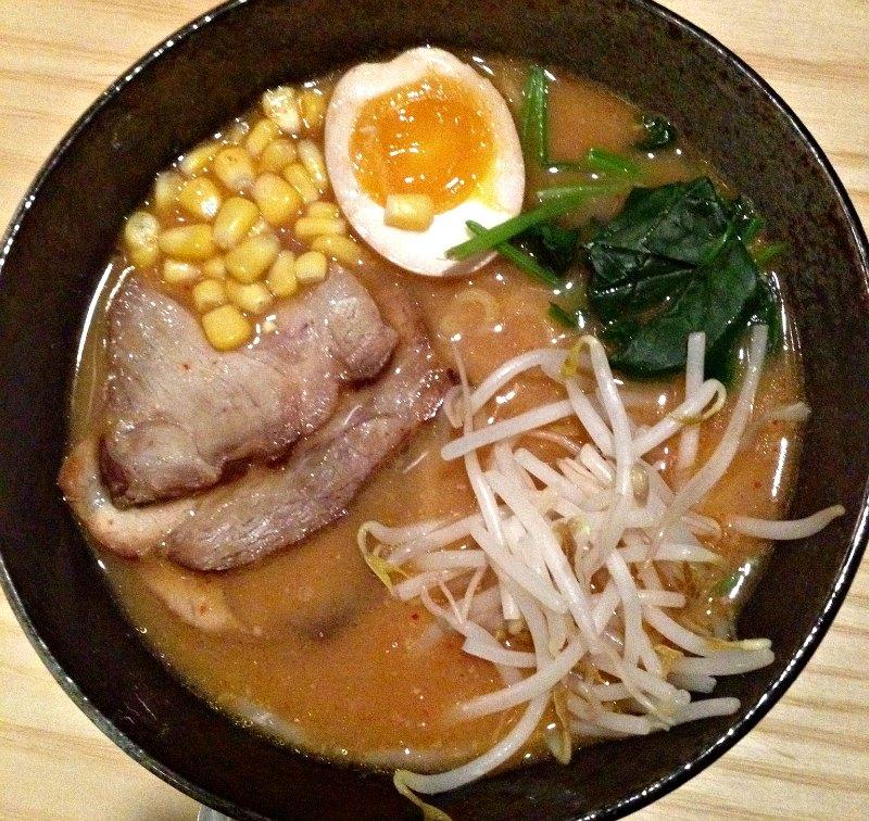 Tonkatsu ramen at Kippo Ramen