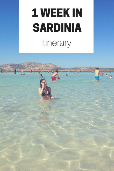 The Best 7-day Sardinia Itinerary (Roadtrip Guide)