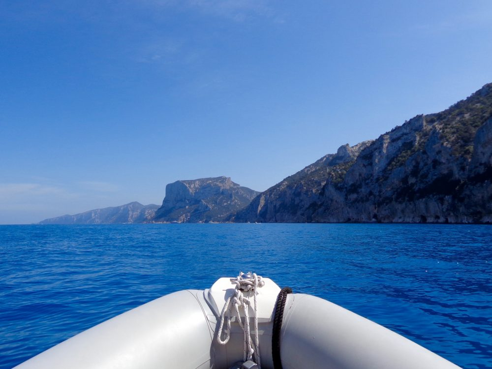 Renting a private boat to explore Gulfo di Orosei