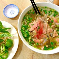 Pho Dai Loi's pho tai chin soup on Buford Highway