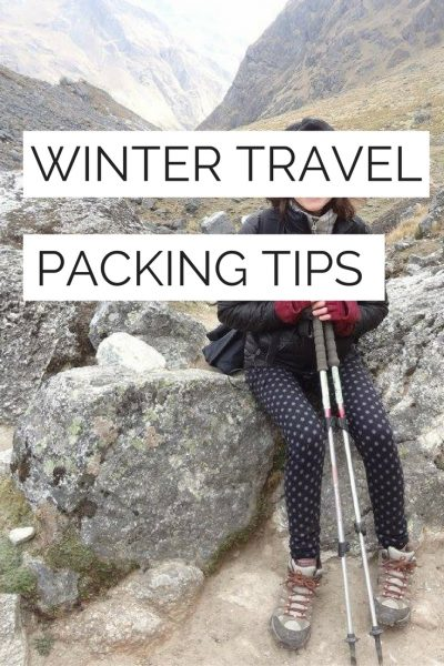 Trying to figure out what to pack for winter travel? Check out my top cold weather tips - stuff I always bring along when traveling in cold weather.