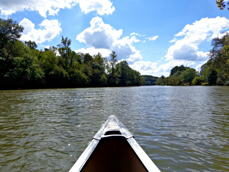 Canoeing in Atlanta