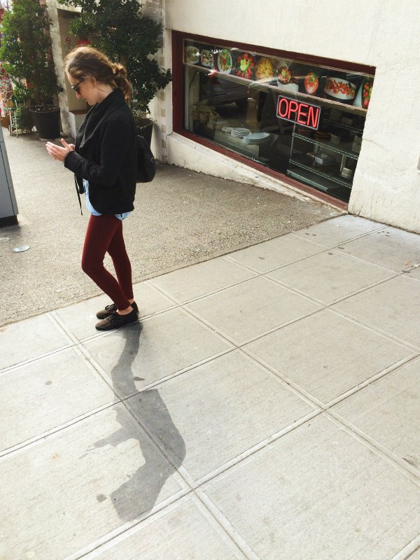 Text therapy while walking