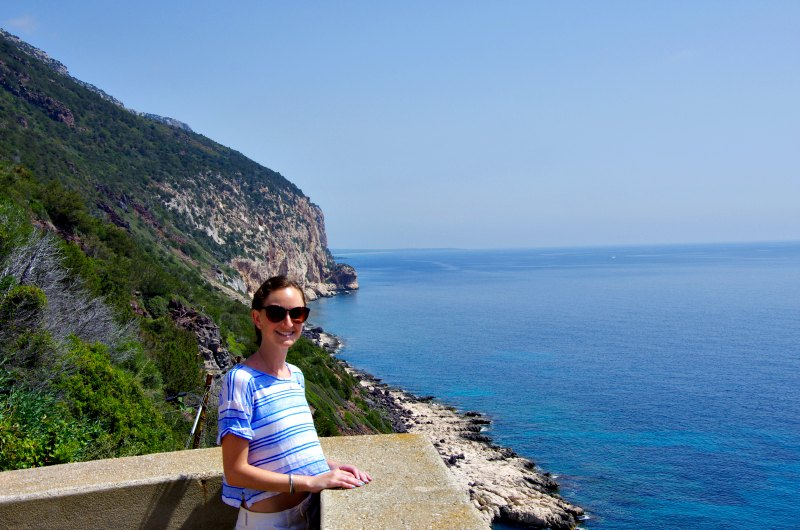In Cala Gonone, Sardinia