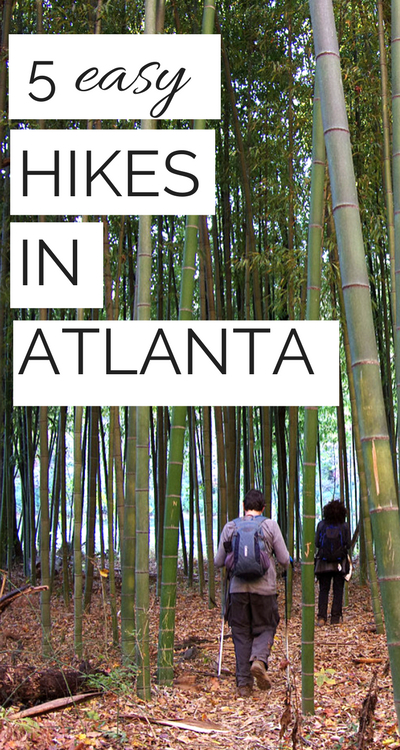 Whether you're visiting for the first time, have just moved to Atlanta, or have been living there for years, check out this roundup of fun, easy, and beautiful hiking trails in and near Atlanta, GA.