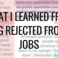 What I learned from being rejected from 34 jobs