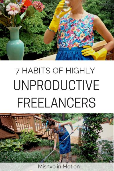 The time management struggle is real in the freelancing world. Here are some of the top habits of unproductive freelancers.