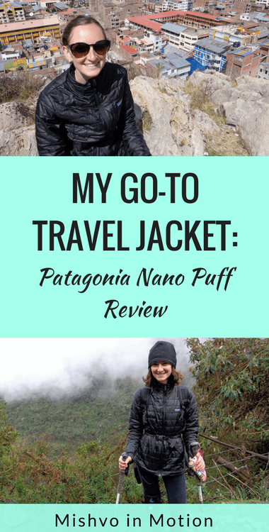 Looking for the perfect jacket for travel? Check out my Patagonia Nano Puff jacket review here.