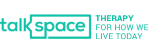 Talkspace text therapy logo