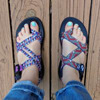 Comparing Chaco sandals Z/2 to ZX/2