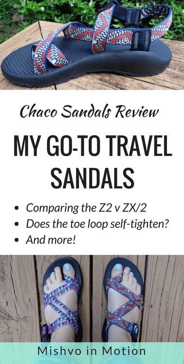 Comparing Chaco Sandal Models: the Z/2 v ZX/2 Review