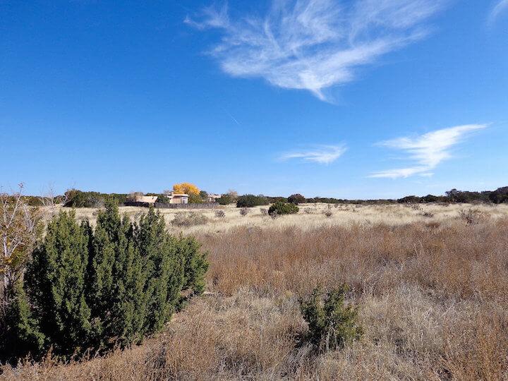 In El Dorado, New Mexico near Santa Fe