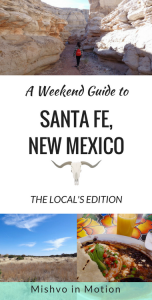 Get tips from a local on what to eat and what to do when you visit Santa Fe, New Mexico on a weekend trip!